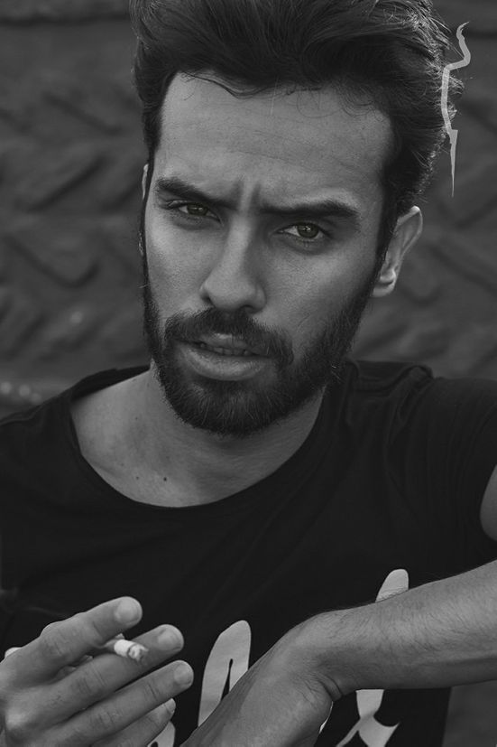 New face male model Mouad from Morocco