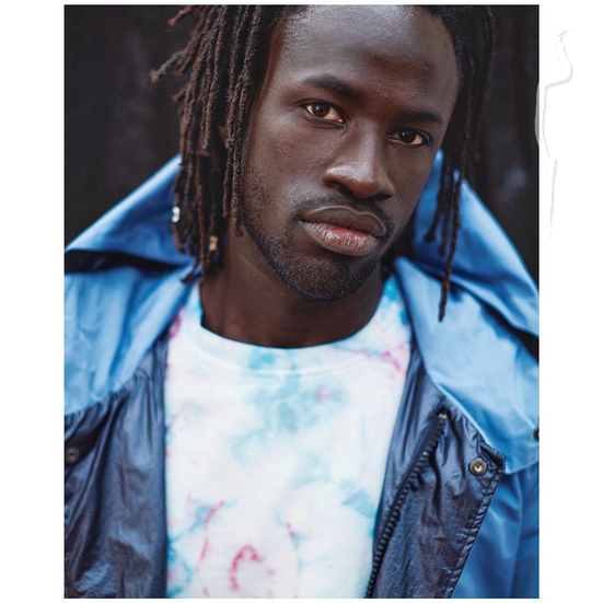 New face Юноша модель Mamadou from Италия