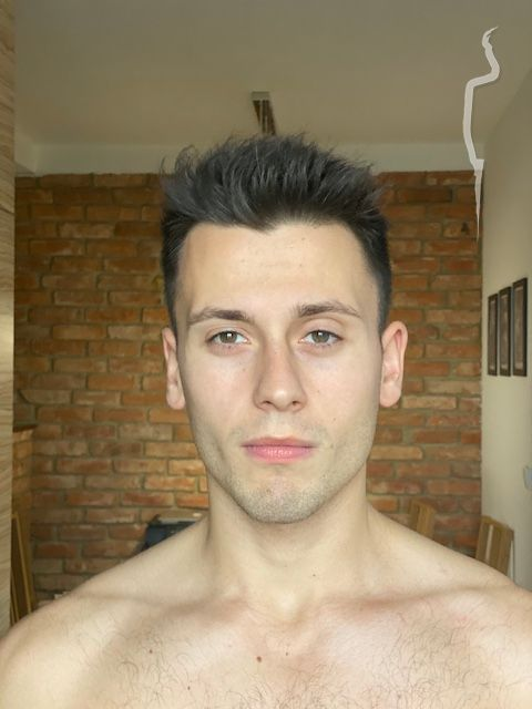 New face male model Marek from Poland