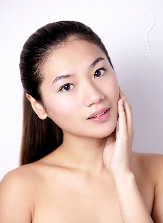 New face kobieta modelka, model Mary from Japan