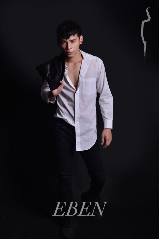 New face male model Mezba from Malaysia