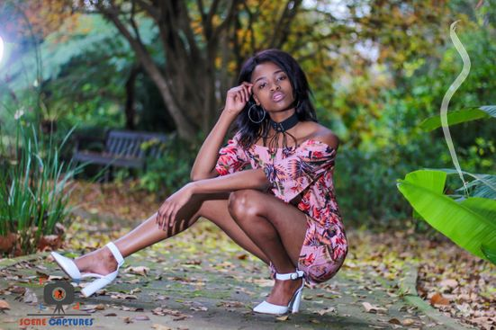New face female model Nondumiso from South Africa