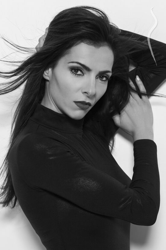 New face female model Nathalie from Portugal