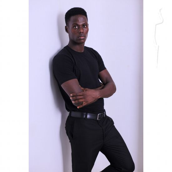 New face maschile modello Samuel from Nigeria