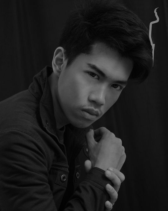 New face male model Steven from Indonesia