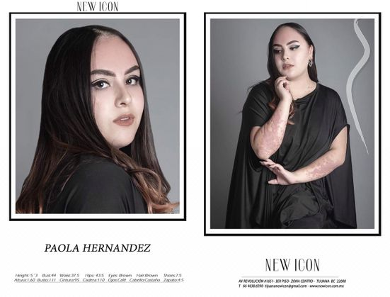 New face femminile modello Paola from Messico