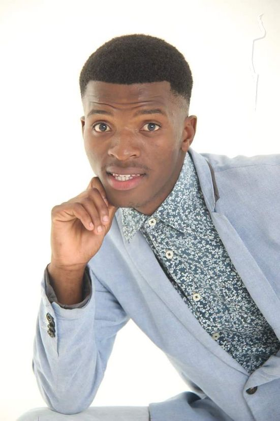 New face male model Phindile from South Africa
