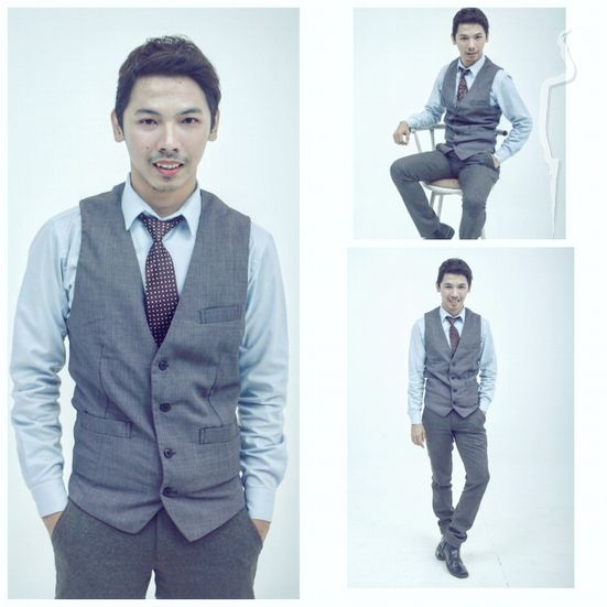 New face male model Prima from Indonesia