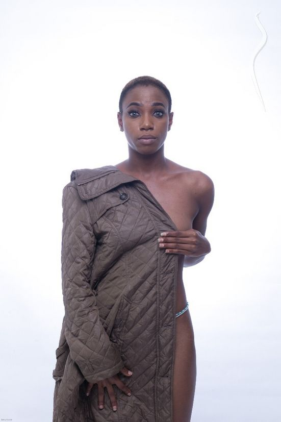 New face female model Temilayo from Nigeria