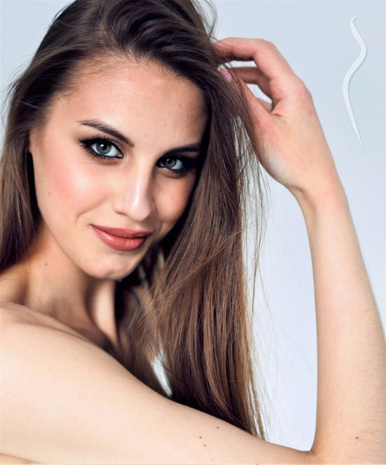 New face femme Mannequin Valeria from Russie