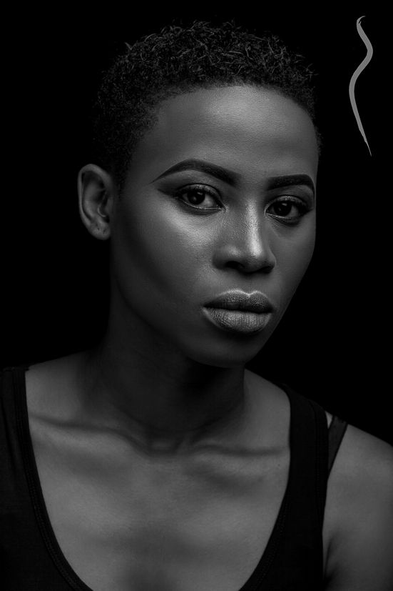 New face female model Xtianahmilian from Nigeria