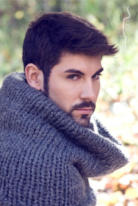 New face male model Ángel from Spain