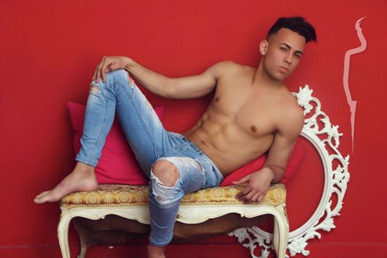 New face male model azizi from Spain