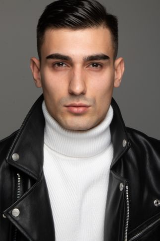 Male model Ricezo from Albania