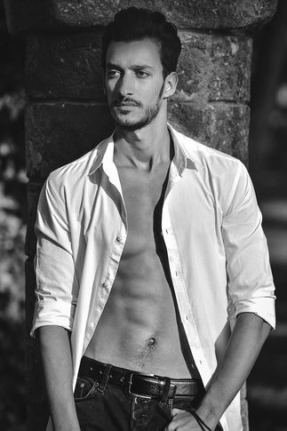 Male model Mizox from Morocco