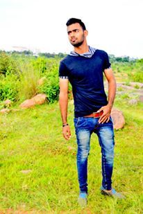 Male model syed from India