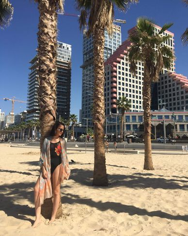 Female model Justyna from Poland