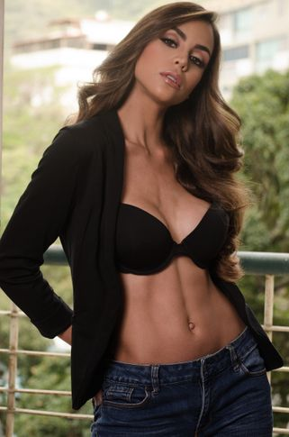 Female model Andreina from Venezuela