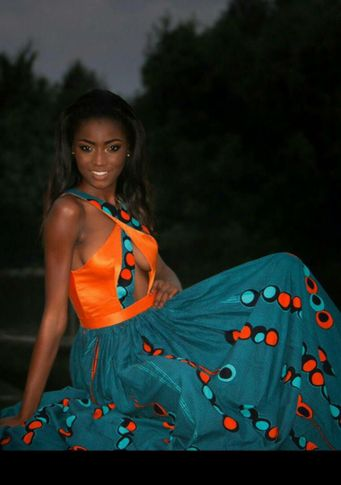 Female model Julie from Cameroon