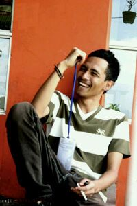 Male model muhammad from Indonesia