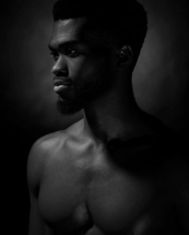 Male model Chinedu from Russia